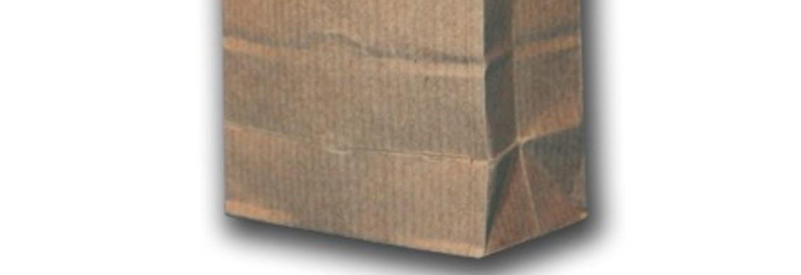 Papier-Blockbodenbeutel 105x65x290mm