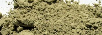 Grüne Tonerde, extra fein