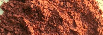 Rote Tonerde ultraventilliert