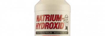 Natriumhydroxid (zur Seifensiederei)