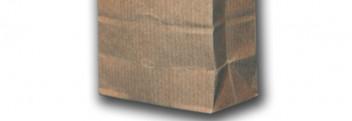 Papier-Blockbodenbeutel 70x40x205mm