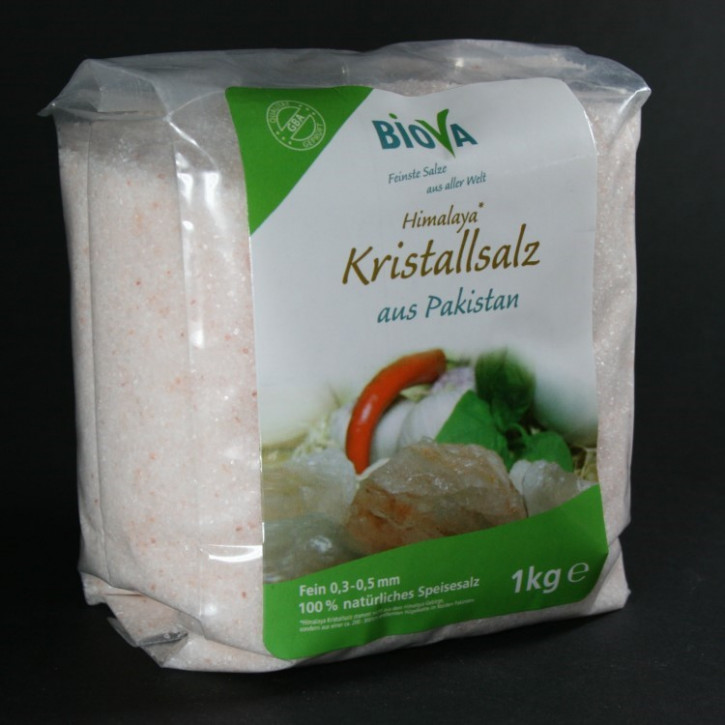 Himalaya Kristallsalz (Steinsalz) fein  1kg