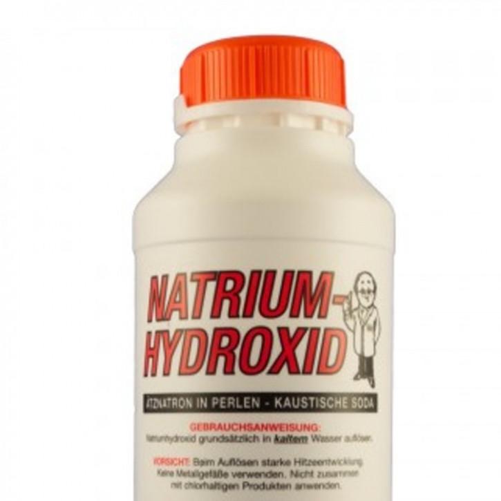 Natriumhydroxid, NaOH zur Seifensiederei (Fa.Fischar)    1kg