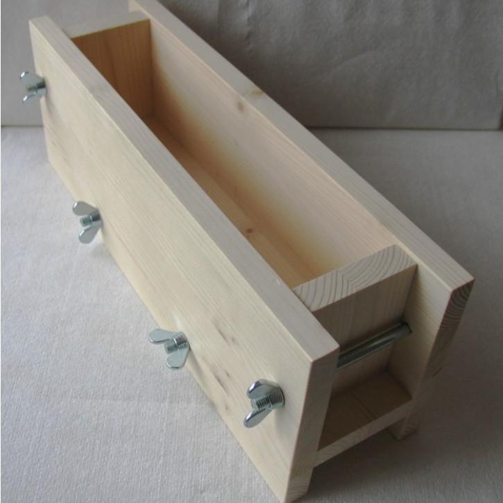 Seifenform Holz, 1 Stück
