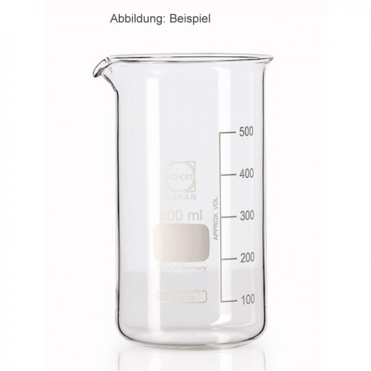 Becherglas, hohe Form   600ml, 1 Stück