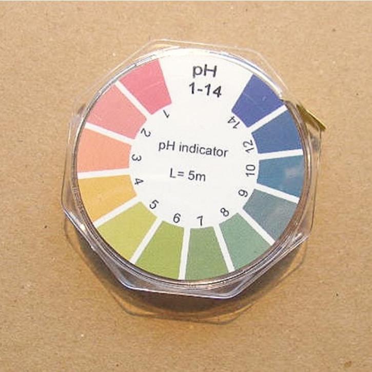 Indikatorpapier pH 1-14,    1Rolle