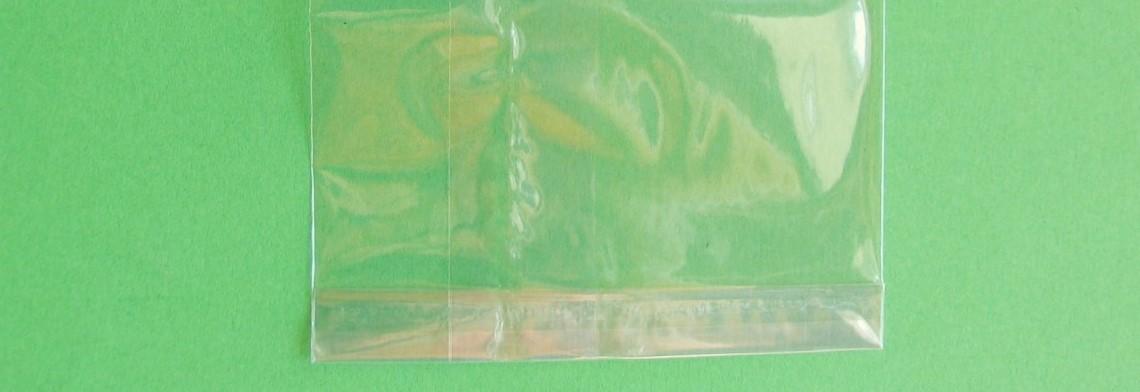 Cellophan-Flachbeutel 80x160mm